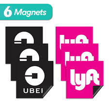 Reflective Uber Driver Oval Sign Sticker Vinyl Car Sign Taxi Drivers Lyft Car Truck Graphics Decals Auto Parts And Vehicles Tamerindsa Com Ar