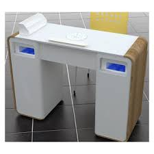 nail art manicure tables with fan