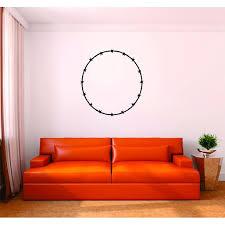 Custom Wall Decal Vinyl Sticker Barb Wire Circle Design Picture Art 12x12 Walmart Com Walmart Com