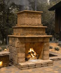 cost to build an outdoor fireplace