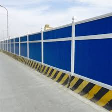 Color Steel Plate Noise Barrier Manufacturers And Suppliers Jinbiao