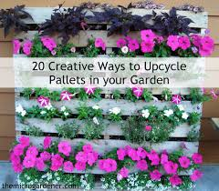 upcycle pallets in your garden
