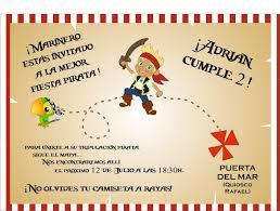 Invitaciones De Cumpleanos De Piratas Para Imprimir 11 En Hd