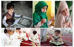 صور اطفال تمسك المصحف وبنات محجبات نجوم مصرية