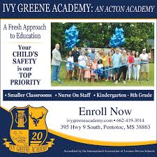 Provide Quality Education in Pontotoc, MS, Schools - Ivy Greene Academy