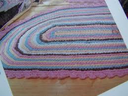 free crochet oval rug pattern crochet