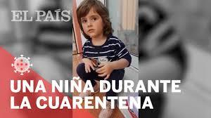 El Video Viral De Una Nina Valenciana Durante La Cuarentena Youtube
