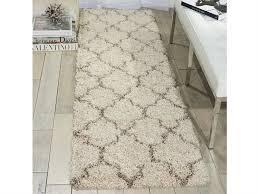 nourison amore cream runner rug