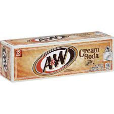 a w cream soda 12 fl oz pack of 12