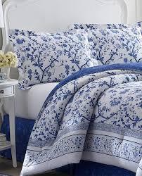 laura ashley blue and white charlotte