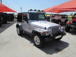 Sold 2003 Jeep Wrangler Tomb Raider Edition Rubicon Stock 375419 Collins Bros Jeep