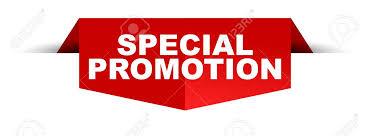 Bannière Spéciale Conception De Promotion Logo Isolé Illustration ...