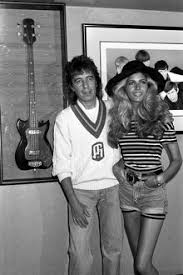 Restaurant Launch Bill Wyman and Mandy Smith 1989 #12261032