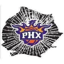 Phoenix Suns Window Decal Phoenix Suns Phoenix Suns Basketball Suns Basketball