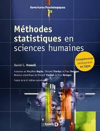 Méthodes statistiques en sciences humaines de David C. Howell - Poche -  Livre - Decitre