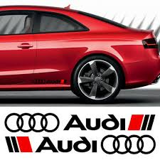 Audi Sport Sticker Car Decal Vinyl Red Stickers 50mm Race Racing Rally Archives Statelegals Staradvertiser Com