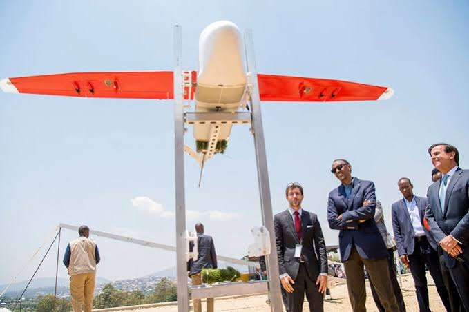 "Image result for zipline drone rwanda"""