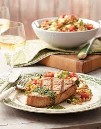 Grilled Tuna with Italian Salsa Verde ...