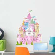 Fairy Tale Castle Wall Decal By Wallmonkeys Peel And Stick Graphic 24 In H X 18 In W Wm322887 Walmart Com Walmart Com