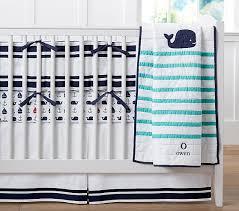hamptons whale crib bedding sets