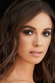 bridal makeup brunette brown eyes