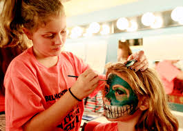 PHOTOS: Theatrical Make-up Camp at The Belmont Theatre