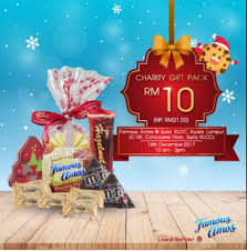 famous amos 1 day charity gift