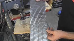 My Shop:Circular patterns-swirls on metal - YouTube
