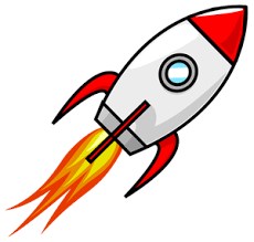 Image result for clipart of a rocket""