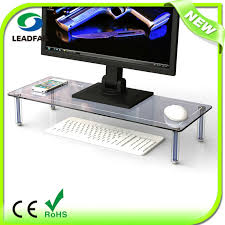 monitor riser stand platform shelf