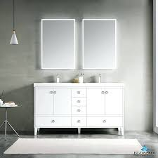 freestanding bathroom cabinet white