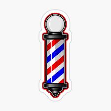 Barber Pole Stickers Redbubble