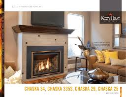 chaska brochure kozy heat fireplaces