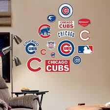 Fathead Mlb Chicago Cubs Logo Sheet Junior Wall Graphic Bed Bath Beyond