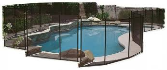 Above Ground Pool Safety Fence Kit Adjustable 12 Ft Section Diy Protect Gate New 847367008337 Ebay