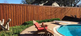 Privacy Fence Companies Plano 8 Ft Tall Board On Board Wood Fences