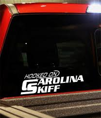 Hooked On Carolina Skiff Decal North 49 Decals
