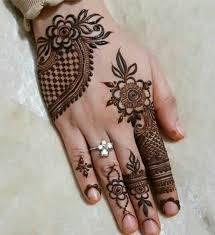 New Simple Mehndi Design Hd