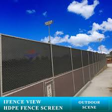 Ifenceview 4 X13 Black Fence Privacy Screen Mesh For Construction Yard Garden