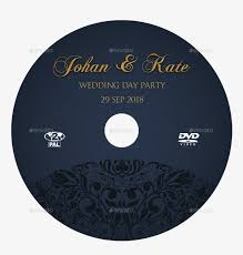 05 wedding party dvd cover and label