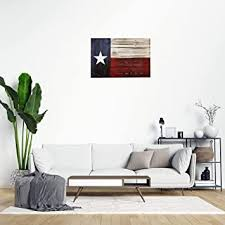 Amazon Com Texas Flag Patriot Wall Decals Vintage Wood Texas State Flag Peel And Stick Wall Stickers For Bedroom Living Room Office Wall Art Home Decor Baby