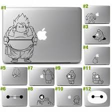 Big Hero 6 Baymax Vinyl Decal Sticker For 11 13 15 17 Apple Macbook Air Pro Ebay