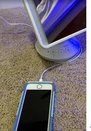bluetooth speaker vanity mirror