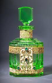 czechoslovakian perfume bottle 1920