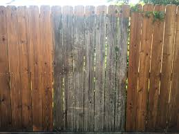 Wife Suggested I Power Wash The Fence For Some Reason I Was Not Prepared For The Difference Powerwashingporn