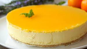 Tarta de naranja SIN HORNO ¡Fácil y rápida! - Anna Recetas Fáciles