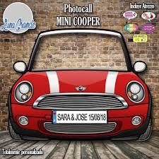 Photocall Coche Mini Cooper Totalmente Personalizado Envio Gratis