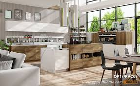 wood grain melamine and white pvc