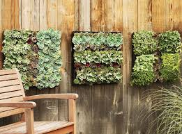 contemporary wall mounted planters
