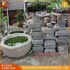 natural granite stone trough